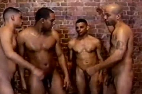 kinky And hairy gay butthole invasion In The Shower