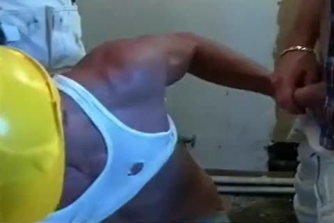Hard Bodied Muscled Workers In lusty Coc ...