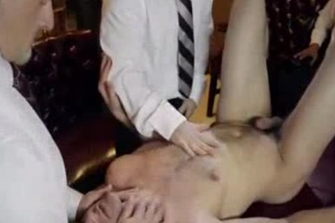 Mormon fuckfest - Three Elders, Two twinks