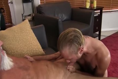 young dude gets fucked In The butthole By bawdy old chap