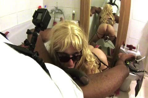 Sissy Mya swallow engulf Jack One Hour Since A lengthy Time