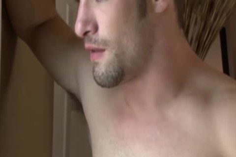 Cody Cummings Jerks Off while Spying On A slutty boy