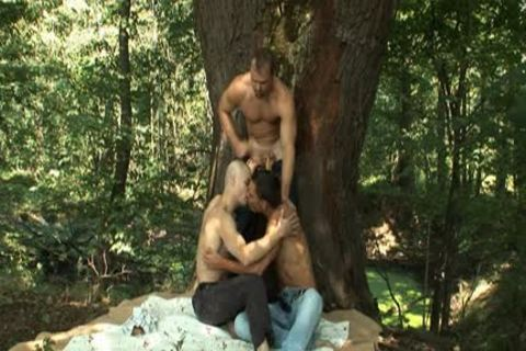 Mattias, Roman And Zdenek Threeway Outdoor bang