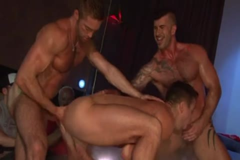 Stripshow Porn DP bunch-sex On Stage
