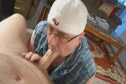 Hung Verbal Married chap gets His penis Worshiped